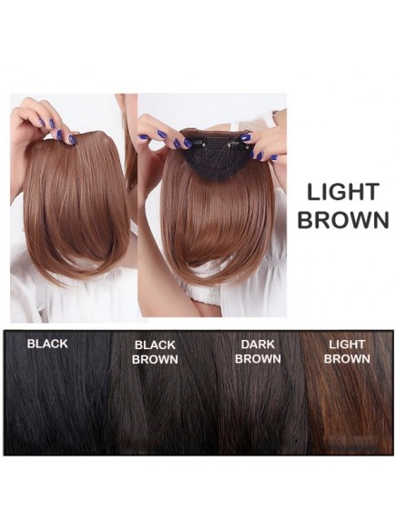 HO3352W - Hair Clip Poni Depan Side Korean Extension