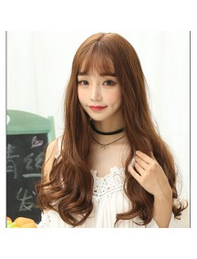 HO3362 - Hair Wig Rambut Palsu Korean Sweet Curly (Light Brown)