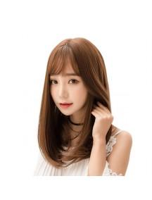HO3363 - Hair Wig Rambut Palsu Sedang Korean (Light Brown)