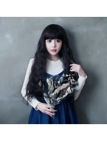 HO3370 - Wig / Rambut Palsu Panjang + Poni (Natural Black)