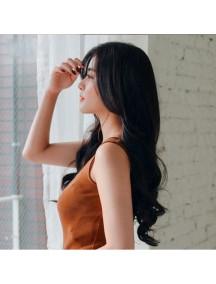 HO3384 - Hair Wig Rambut Palsu Panjang Wavy Long (Natural Black)