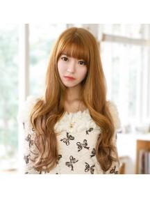 HO3390 - Hair Wig Rambut Palsu Panjang Sweet Curly (Brown)