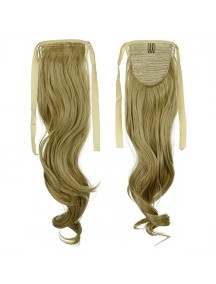 HO3392 - Hair Clip Volume Ponytail Kuncir Panjang Curly (Blonde)
