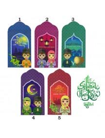 HO3414W - Amplop/ Angpao Lebaran Idul Fitri Ramadhan isi 8 pc (Small)