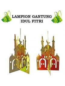 HO3424 - Hiasan Lampion Gantung Masjid Ornament Idul Fitri