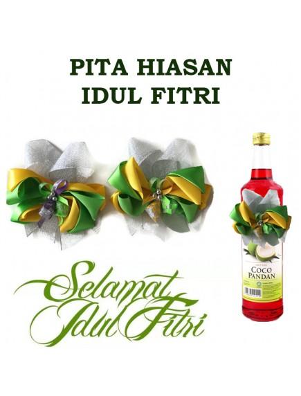 HO3426 - Dekorasi Pita Hiasan Parcel Idul Fitri