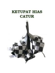HO3427 - Ornament/Hiasan Ketupat Catur Idul Fitri