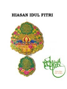 HO3433 - Hiasan Gantung Colorful Lebaran Idul Fitri 3D
