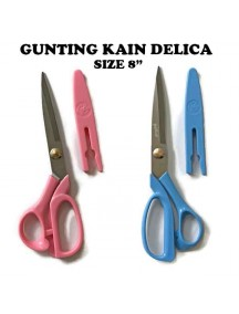"HO3435W - Gunting Kain Cap Delica Ukuran 8"""