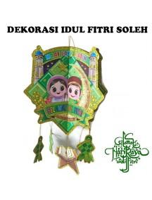 HO3438 - Hiasan Gantung Soleh Lebaran Idul Fitri 3D