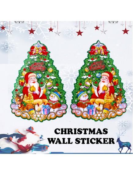 "HO3495 - Christmas Sticker Dinding ""Merry Christmas"" (51 cm)"