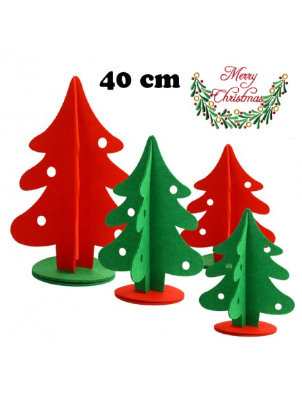 HO5378 - Christmas Decoration Table Top Tree Non Woven (40 cm)