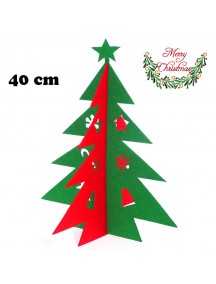 HO5379 - Christmas Decoration Table Top Tree Non Woven Star (40 cm)