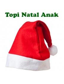 HO5392 - Topi Natal Anak-Anak Santa Christmas