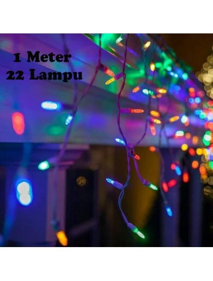 HO5420 - Dekorasi Lampu Hias Warna Warni Christmas