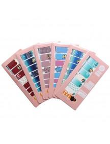 HO5200W - Nail Sticker Kuku Instant Cantik Fashion