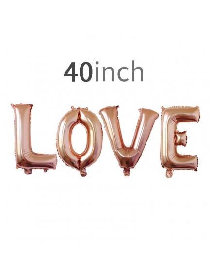 HO5434W - Love Balloon Foil Balon Cinta Jumbo Set (4pc)