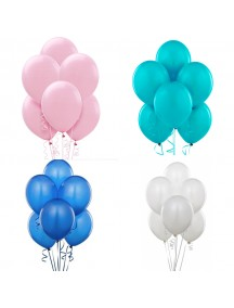 "HO5445W - Balloon Latex Decoration Series Balon 10"" /Pc"