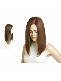 HO5452 - Hair Wig / Rambut Palsu Premium Long Bob Straight (Light Brown)