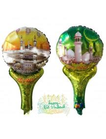 HO5462 - Hiasan Balon Foil Pentungan Hari Raya Ornament Idul Fitri