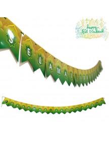 HO5464 - Banner Lebaran Ornament/Hiasan Idul Fitri