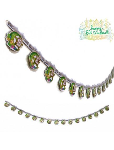 HO5465 - Banner 3D Lebaran Ornament/Hiasan Idul Fitri