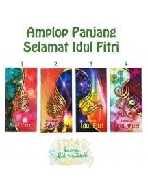 HO5469W - Premium Amplop/Angpao Panjang Idul Fitri isi 6 pc (Large)