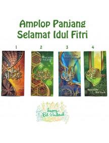 HO5470W - Premium Amplop/Angpao Panjang Idul Fitri isi 6 pc (Large)