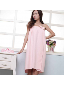 HO5489 - Handuk Wrap Dress / Towel Microfiber Fashionable Cantik