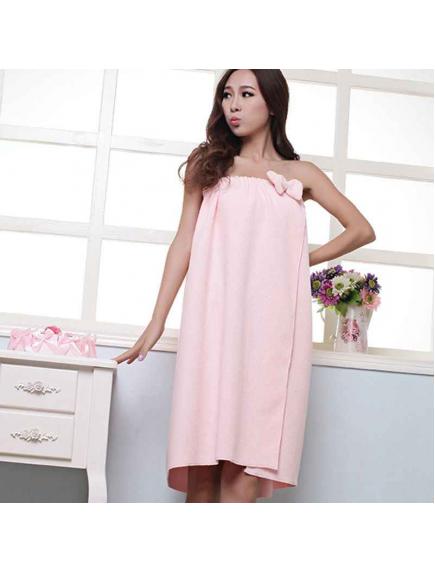 HO5489 - Handuk Wrap Dress / Towel Microfiber Fashionable Cantik