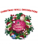 HO5494 - Dekorasi Natal Tempelan Dinding Merry Christmas To You Wall Sticker