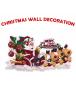 HO5496 - Dekorasi Natal Tempelan Dinding Merry Christmas Wall Sticker #2