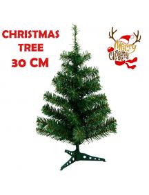 HO5527 - Pohon Natal Christmas Tree PVC Premium (Tinggi 30cm)