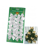HO5531 - Christmas Decoration Tree Ornament Natal Silver Bow 12pc