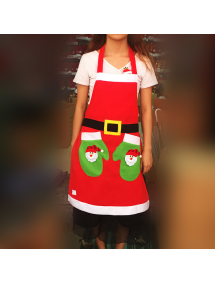 HO5532 - Christmas Decoration Apron Celemek Natal