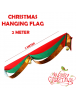 HO5550 - Christmas Decoration Hanging Banner Flag Natal (2 Meter)