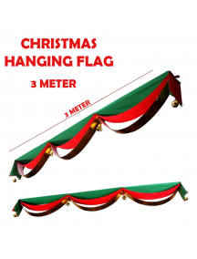 HO5551 - Christmas Decoration Hanging Banner Flag Natal (3 Meter)