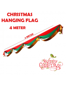 HO5552 - Christmas Decoration Hanging Banner Flag Natal (4 Meter)