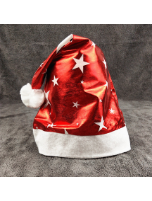 HO5555 - Aksesoris Topi Natal Five Star Christmas Hat