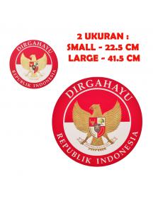 HO5625 - Dekorasi 17 Agustus HUT RI Karton Dekorasi Dinding Dirgahayu RI (Large)