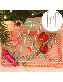 HO5634W - Ornamen Dekorasi Pohon Natal Permen Candy Cane