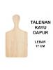 WA3056 - Talenan Kayu Gagang Large 17 cm