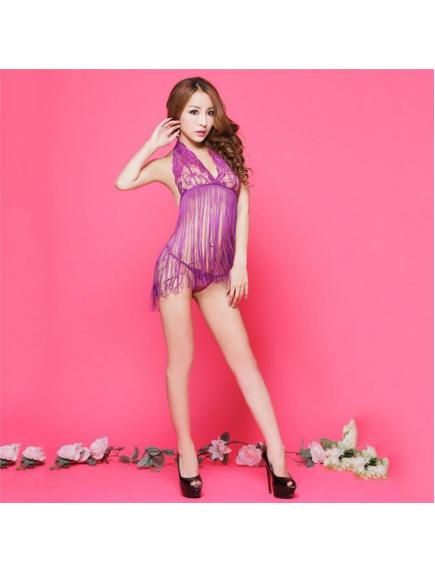 HO5642W - Sexy Lingerie Rumbai Sexy Set Import
