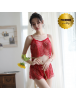HO5645W - Premium Lingerie Lace Two Piece Sexy Set Import