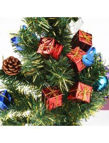 HO5655 - Ornament Dekorasi Pohon Natal Gift Box Kotak Small 2.5 cm (12pc)