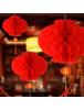 HO5677 - Hiasan Dekorasi Imlek Chinese New Year Lampion Merah (46 cm)