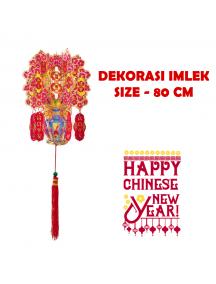 HO5679 - Hiasan Dekorasi Imlek Chinese New Year Gantungan Sakura (80 cm)