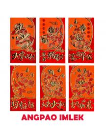 HO5683A - Angpao Imlek Premium Panjang Chinese New Year Xin Cia Golden Embossed