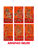 HO5683 - Angpao Imlek Premium Panjang Chinese New Year Xin Cia Golden Embossed