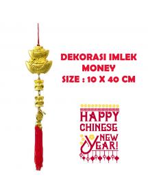 HO5691 - Hiasan Dekorasi Imlek Chinese New Year Money (40 cm)